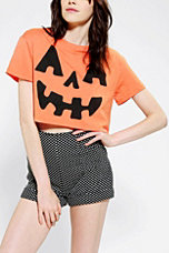 Corner Shop Pumpkin Cropped Tee