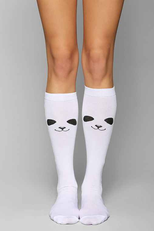 Panda Knee-High Sock
