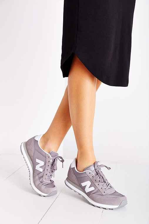 New Balance 501 Classic Running Sneaker,GREY,10