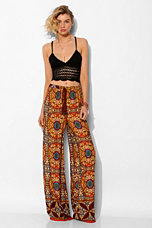 Staring At Stars Medallion Wide-Leg Pant