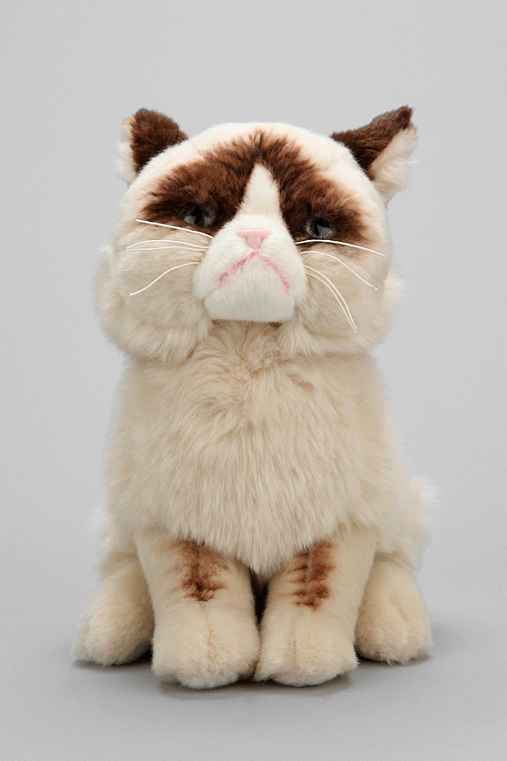 Grumpy Cat Toy Urban Outfitters