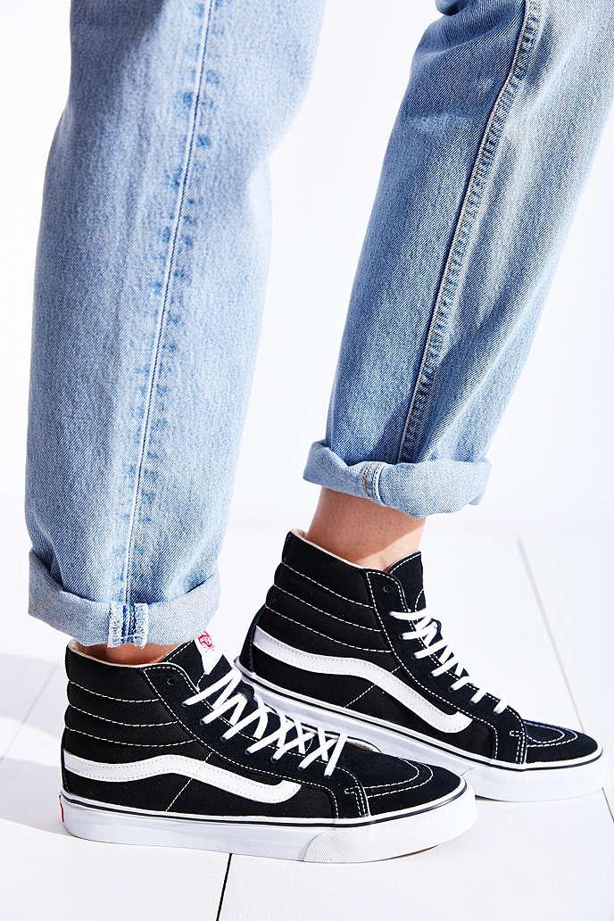 vans sk8 slim shoes women | Hollystringer