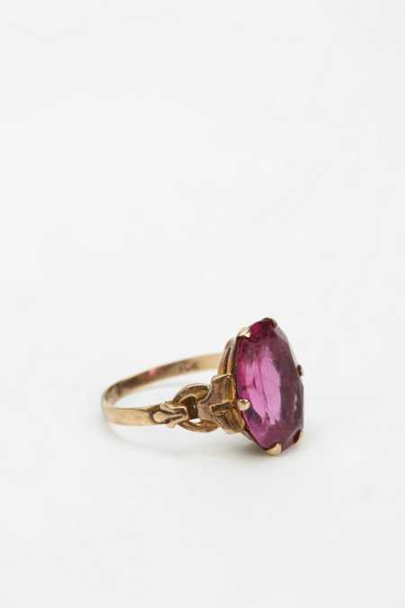 Vintage Victorian Ruby Ring