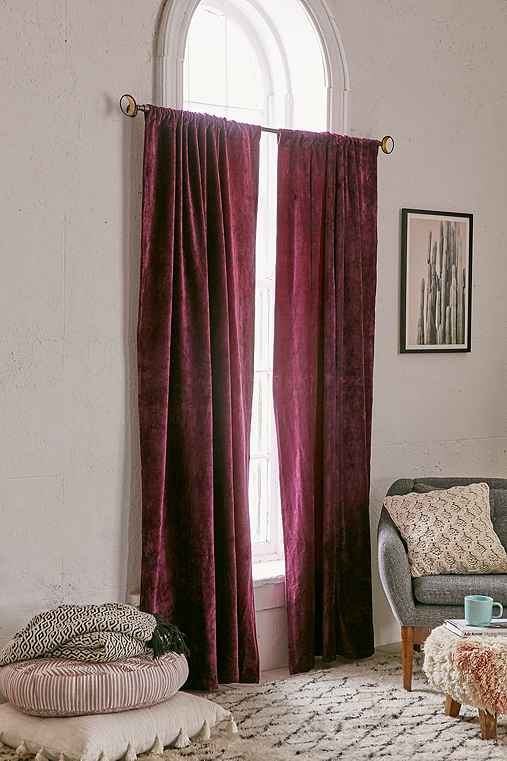 Magical Thinking Velvet Curtain Urban Outfitters
