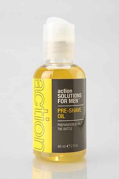 Action Solutions For Men Pre-Shave Oil