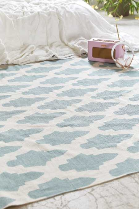 Magical Thinking Flourish Tile Printed Rug