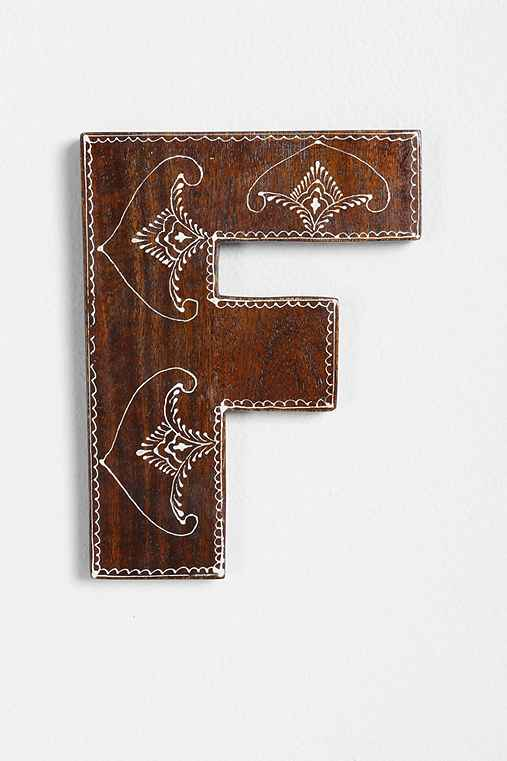 Magical Thinking Henna Letter,F,ONE SIZE