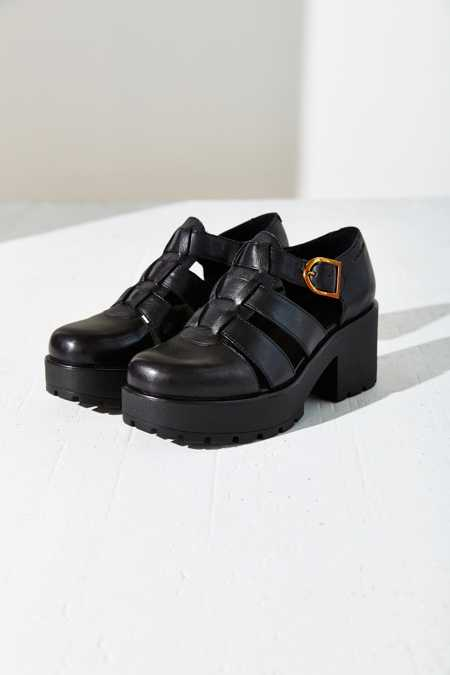 Vagabond Dioon Fisherman Platform Heel