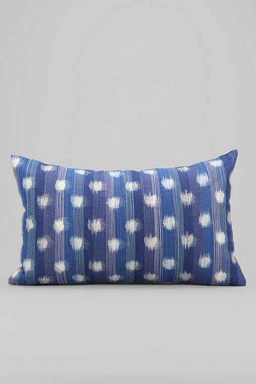 Throw Pillows Urban Outfitters : 4040 Locust Ikat Dot Pillow - Urban Outfitters