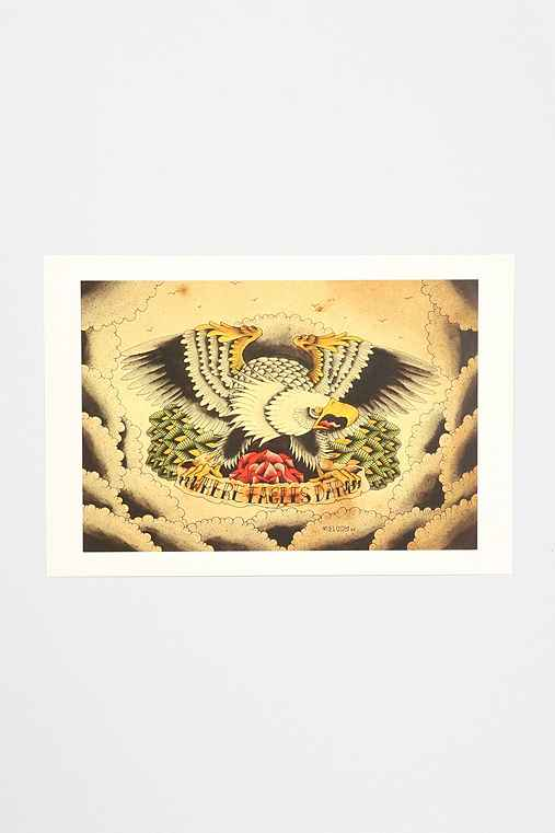 Nick Melody Where Eagles Dare Art Print