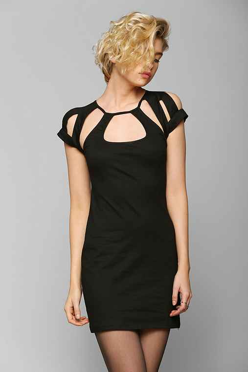 Motel Neema Cutout Bodycon Dress