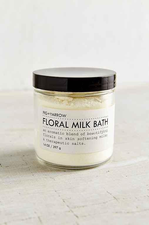 Fig + Yarrow Floral Milk Bath Soak,ASSORTED,ONE SIZE