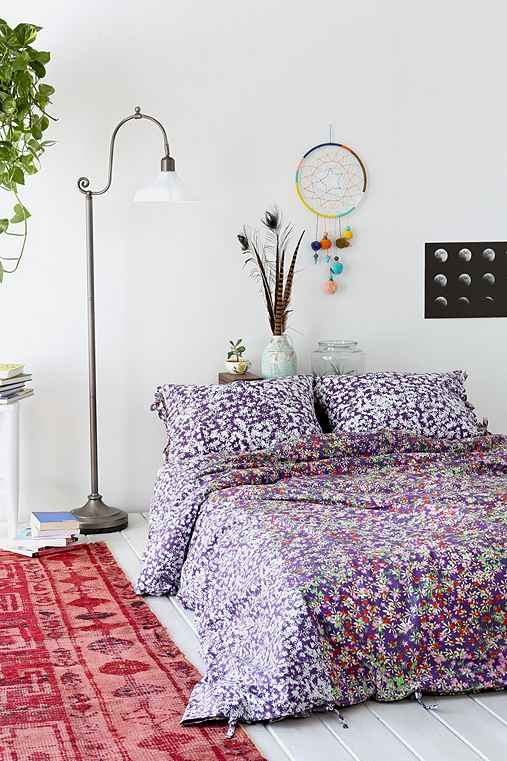 Plum Amp Bow Daydreamer Duvet Cover Urban Outfitters