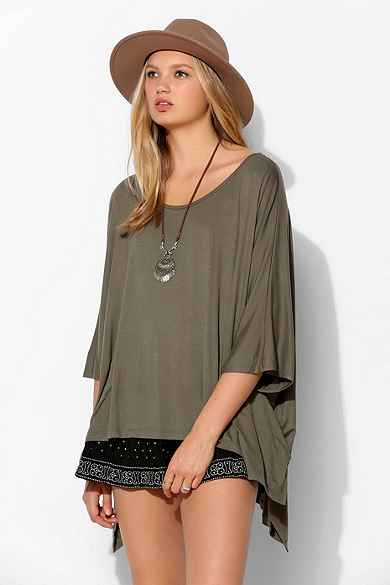 Staring At Stars Drapey Tunic Tee