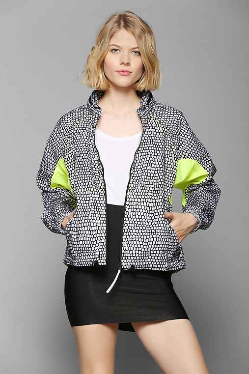 adidas Flocked Windbreaker Jacket