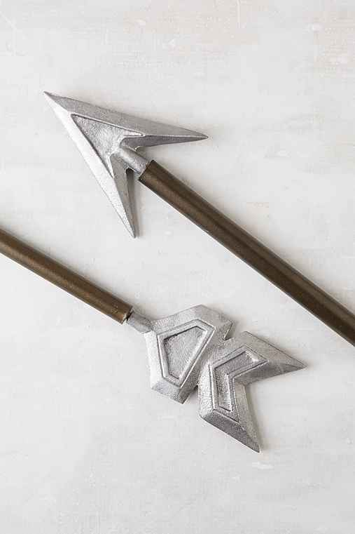Magical Thinking Arrow Finial Set,SILVER,ONE SIZE