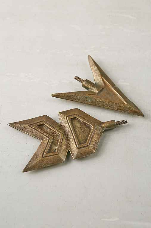 Magical Thinking Arrow Finial Set,BRONZE,ONE SIZE