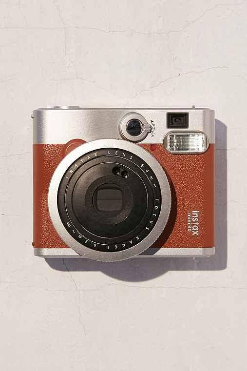 Fujifilm Instax Mini 90 Neo Classic Camera,BROWN,ONE SIZE