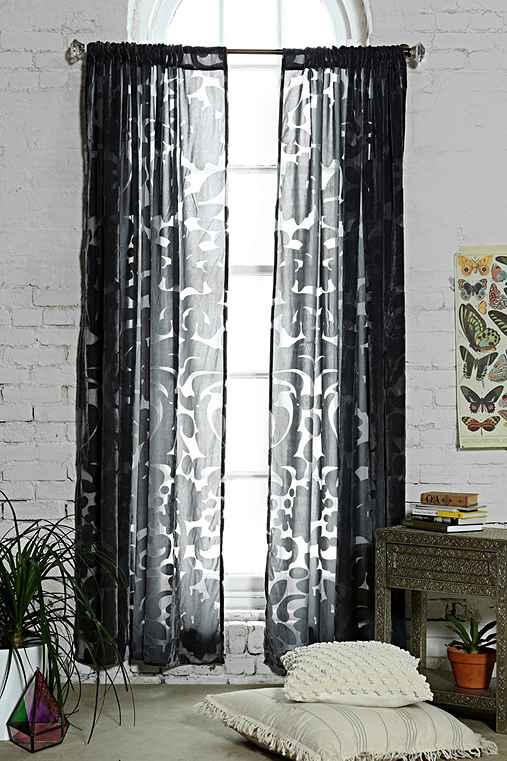 Magical Thinking Ribbon Damask Curtain Urban Outfitters