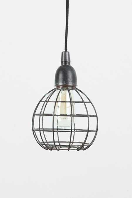 4040 Locust Caged Metal Pendant