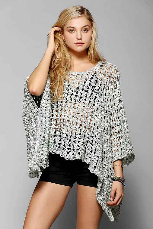 Staring At Stars Open-Knit Oversized Sweater