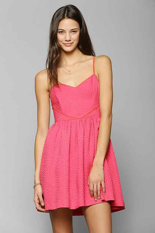 Cooperative Queen Of Hearts Fit & Flare Dress