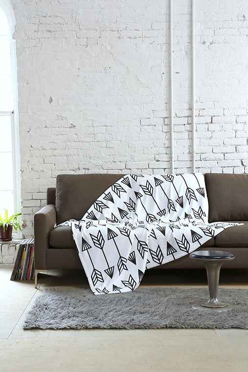 Holli Zollinger For DENY Arrow Throw Blanket