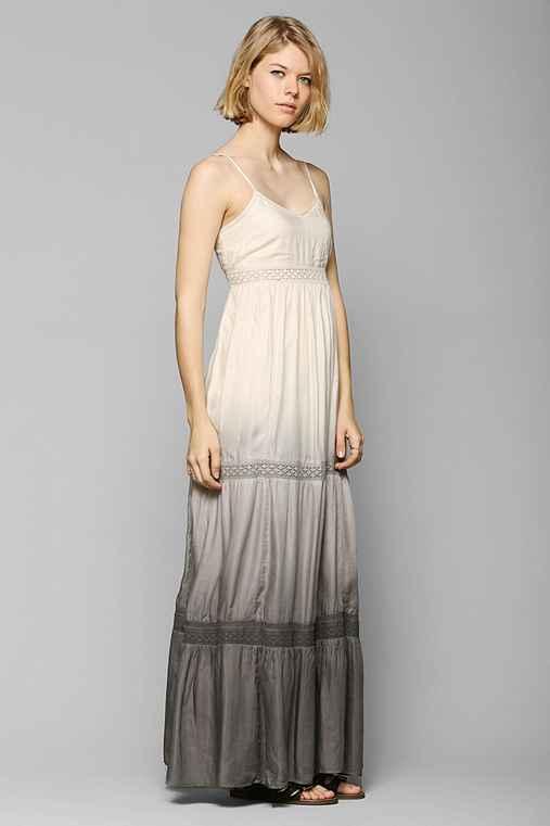 Kimchi Blue Gazelle Dip-Dye Maxi Dress - Urban Outfitters