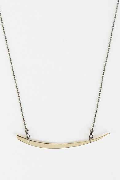Delicate Slice Necklace