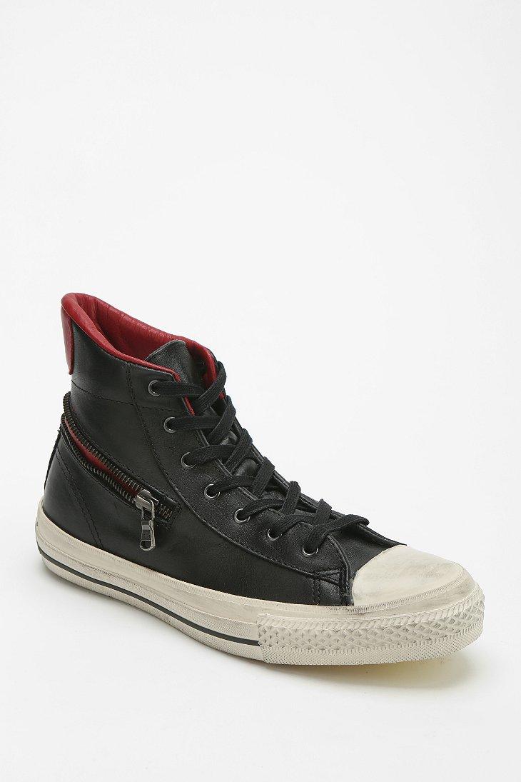 Converse X John Varvatos High Low Leather Womens High Top