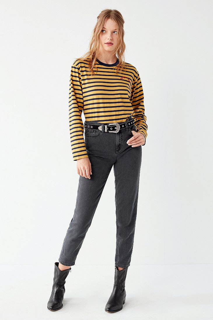 Bdg The Mom Jean Black Urban Outfitters