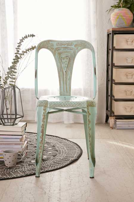 Painted Industrial Chair