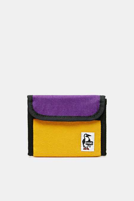 Chums Trifold Sweat Nylon Wallet