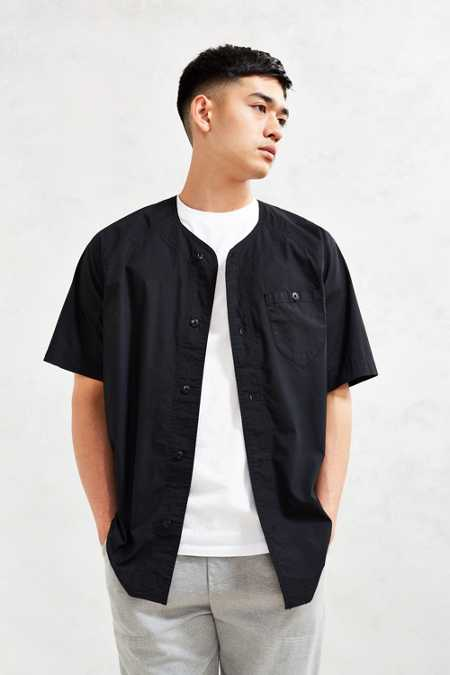 Your Neighbors Baseball Button-Down Shirt