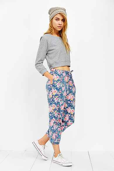 Pins And Needles Floral Sweatpant