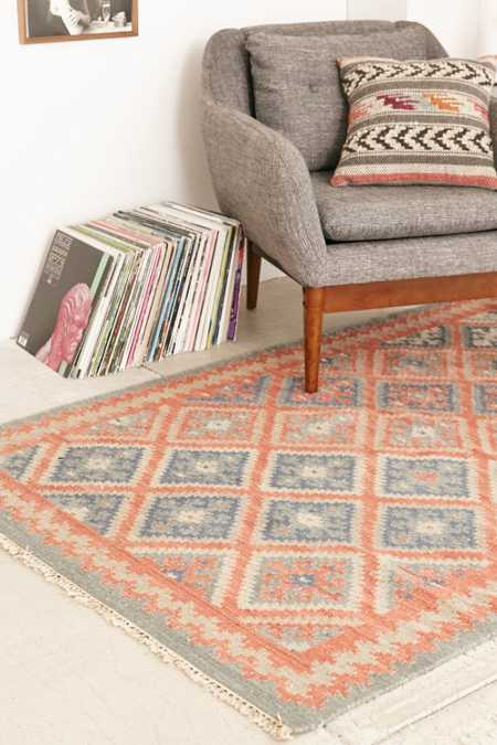 National Diamond Woven Rug