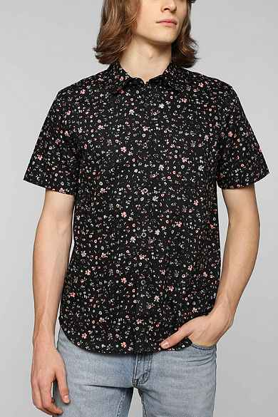 Stussy Bright Floral Button-Down Shirt