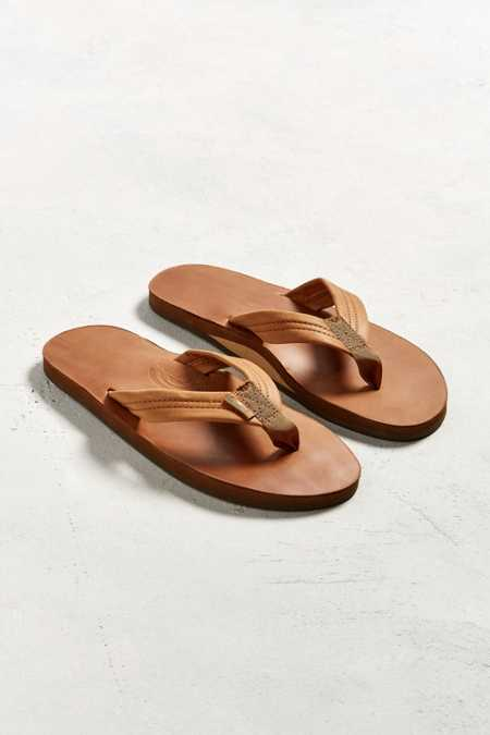 Rainbow Classic Leather Flip-Flop