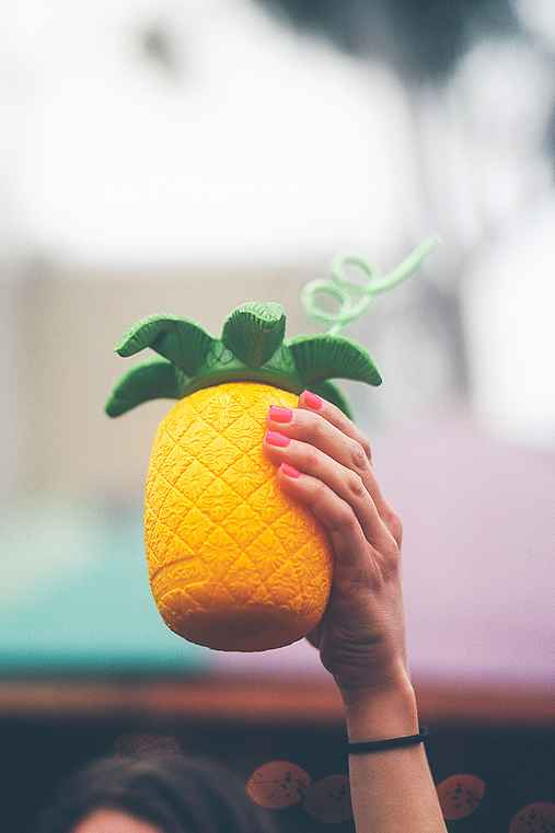 Pineapple To-Go Sipper Cup,ASSORTED,ONE SIZE