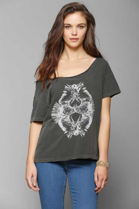 Truly Madly Deeply Reflected Birds Tee