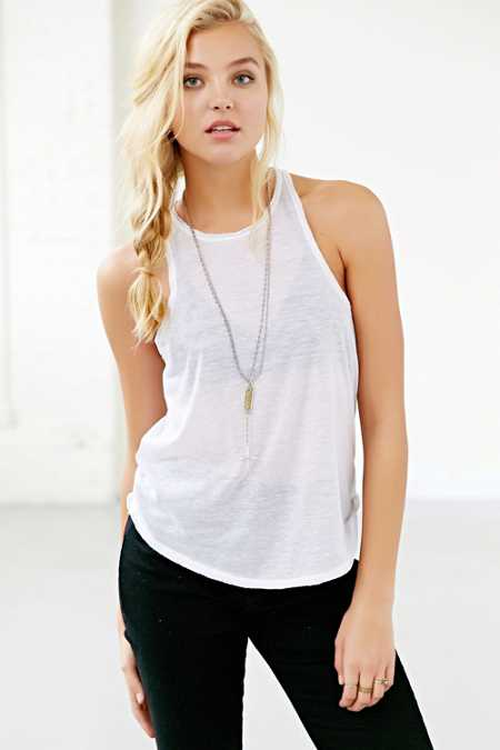 BDG Cut-In Tank Top