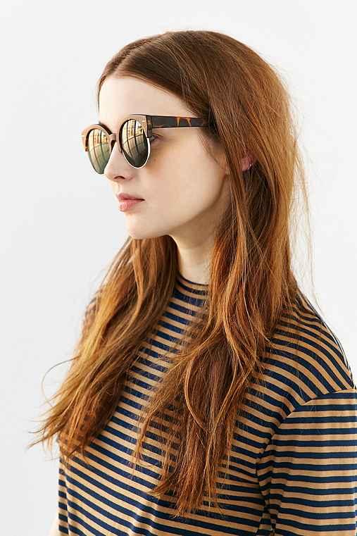 Festival Round Sunglasses,TORTOISE,ONE SIZE