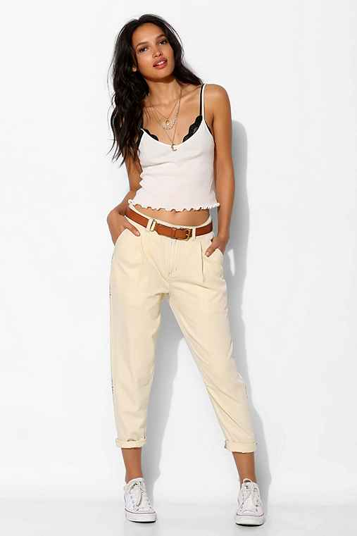 BDG Relaxed Pleated Trouser Pant