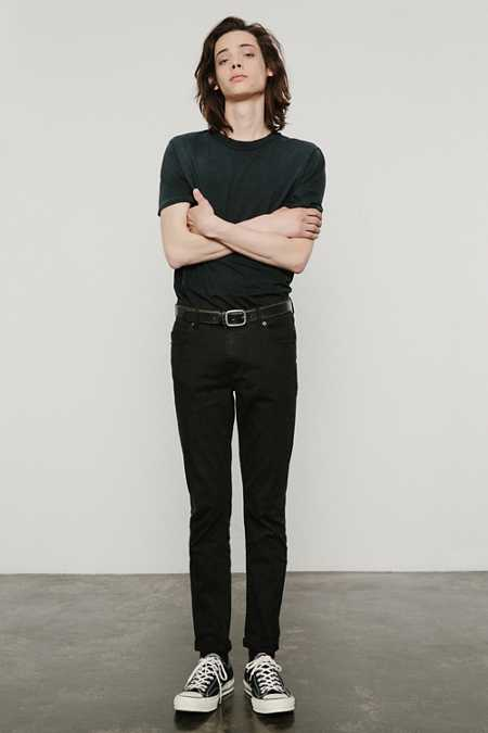 Cheap Monday Tight Stretch Black Skinny Jean