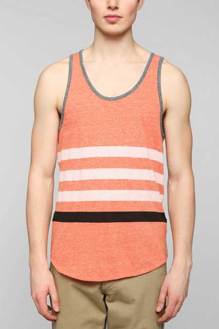 BDG Placed Stripe Tank Top
