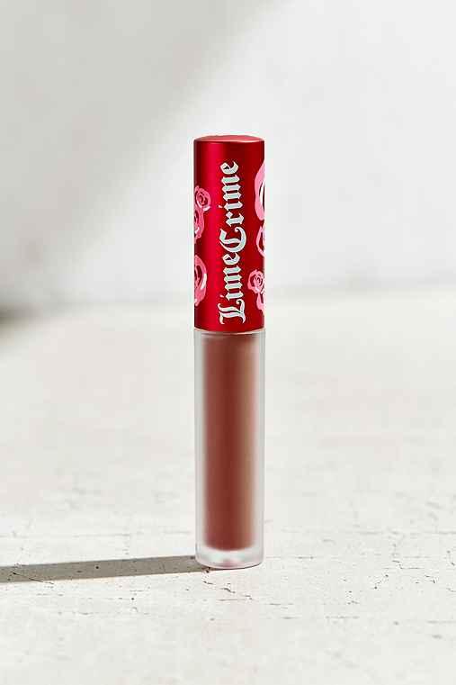 Lime Crime Velvetine Matte Lipstick,SHROOM,ONE SIZE