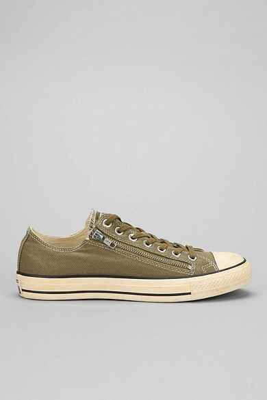Converse Taylor All Star Old School Washed Side-Zip Low-Top Men's Sneaker
