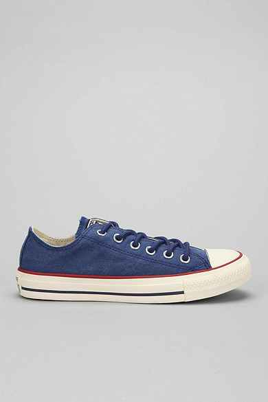 Converse Chuck Taylor All Star Washed Canvas Low-Top Men's Sneaker