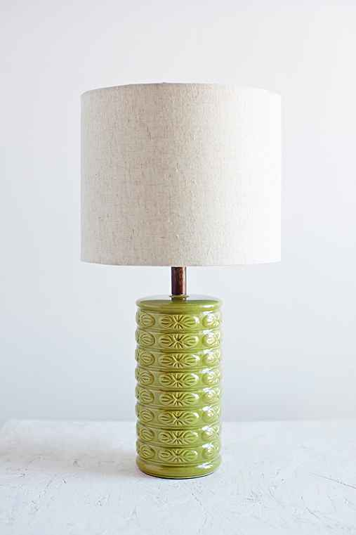 Star Burst Table Lamp,GREEN,ONE SIZE
