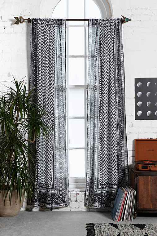 Magical Thinking Scallop Scale Curtain Urban Outfitters